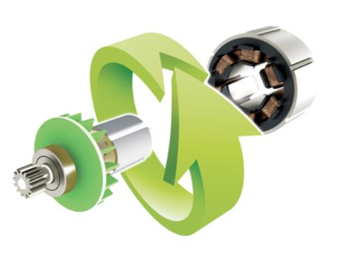 Бесщеточный двигатель Greenworks