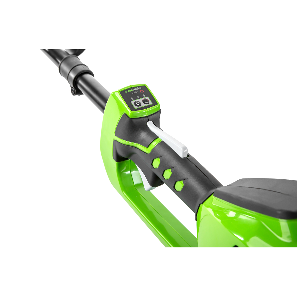 аккумуляторный бесщеточный триммер Greenworks Gd40bc